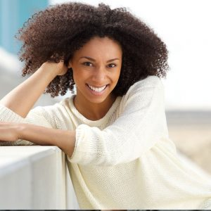 smiling-woman-sweater-happy